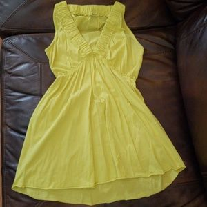 LAmade Bright Yellow Sleeveless Top Size Small